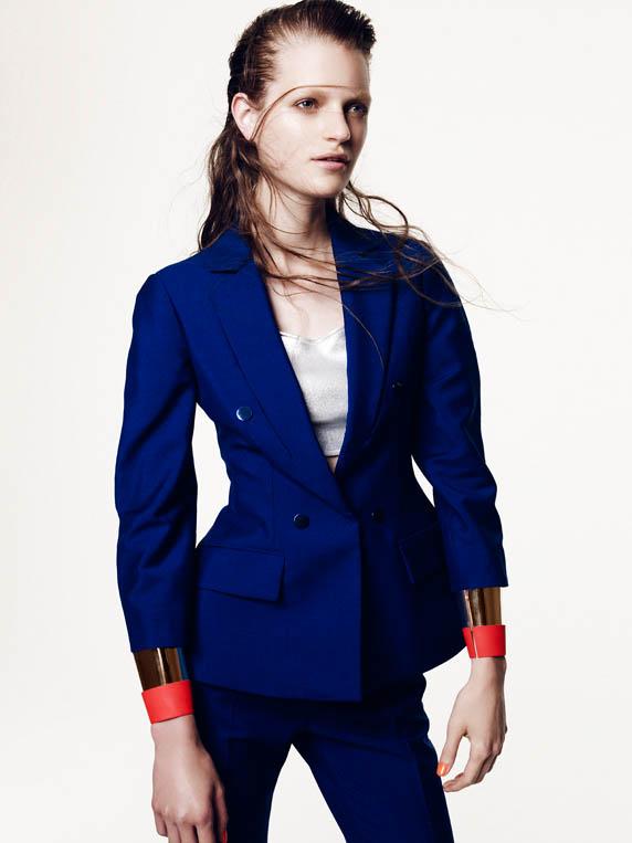 dior special3 Magdalena Langrova Dons Dior Looks for Nagi Sakai in Harpers Bazaar Spain