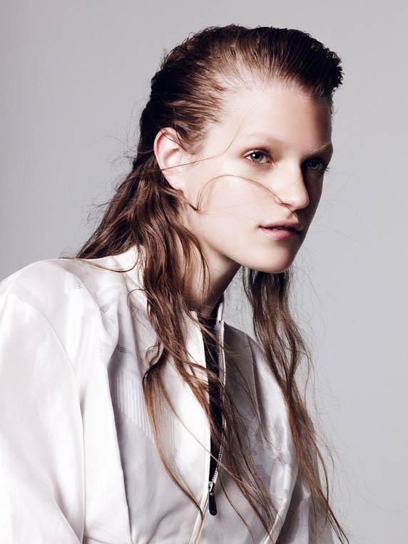 dior special4 Magdalena Langrova Dons Dior Looks for Nagi Sakai in Harpers Bazaar Spain