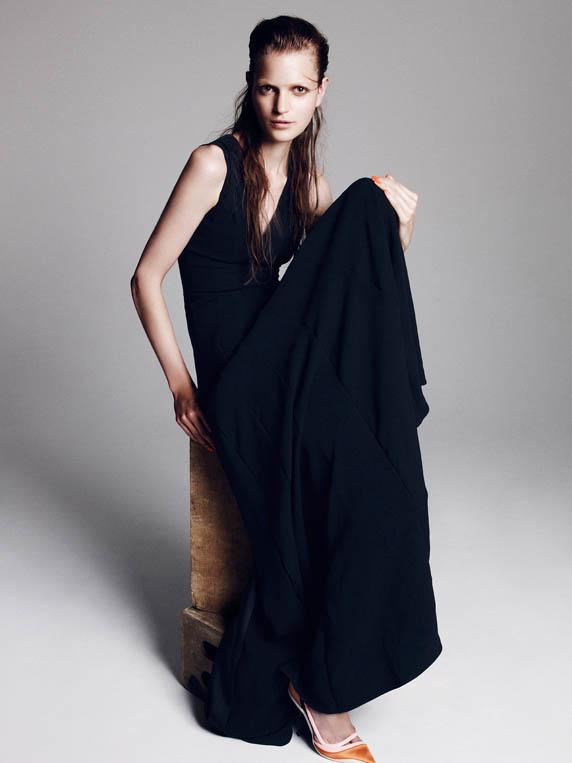 dior special6 Magdalena Langrova Dons Dior Looks for Nagi Sakai in Harpers Bazaar Spain