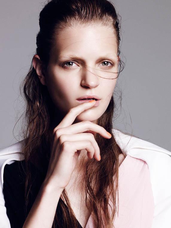 dior special7 Magdalena Langrova Dons Dior Looks for Nagi Sakai in Harpers Bazaar Spain