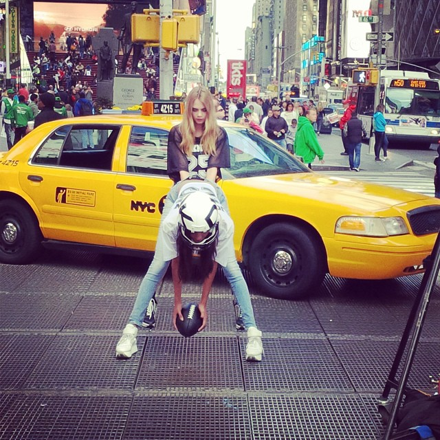 dkny instagram4 See Cara Delevingne, Jourdan Dunn + Eliza Cummings Pose for the Upcoming DKNY Ads
