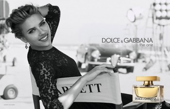 Scarlett Johansson Fronts Dolce & Gabbana 'The One' Ads by Peter Lindbergh