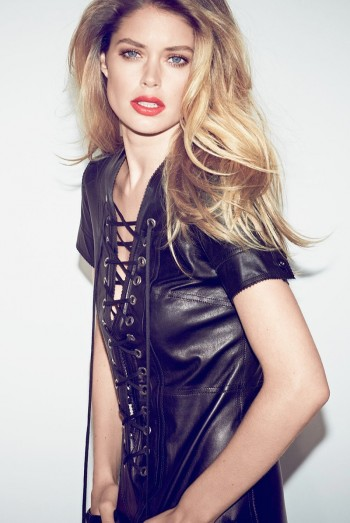 Doutzen Kroes Smolders in Industrie #6 by Erik Torstensson