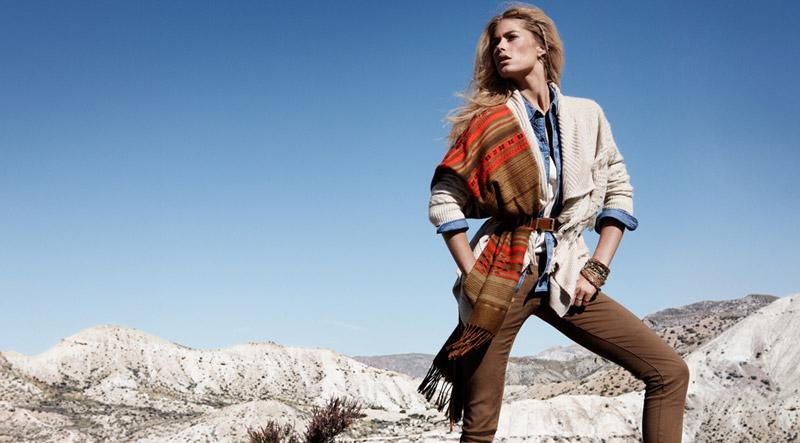 Doutzen Kroes Models Winter Trends for H&M