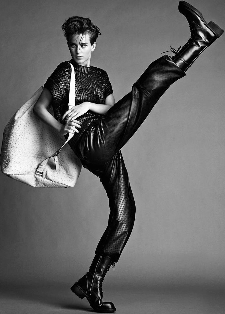 ellinore jimmy backius4 Ellinore Erichsen Rocks Androgynous Style for Madame Figaro by Jimmy Backius