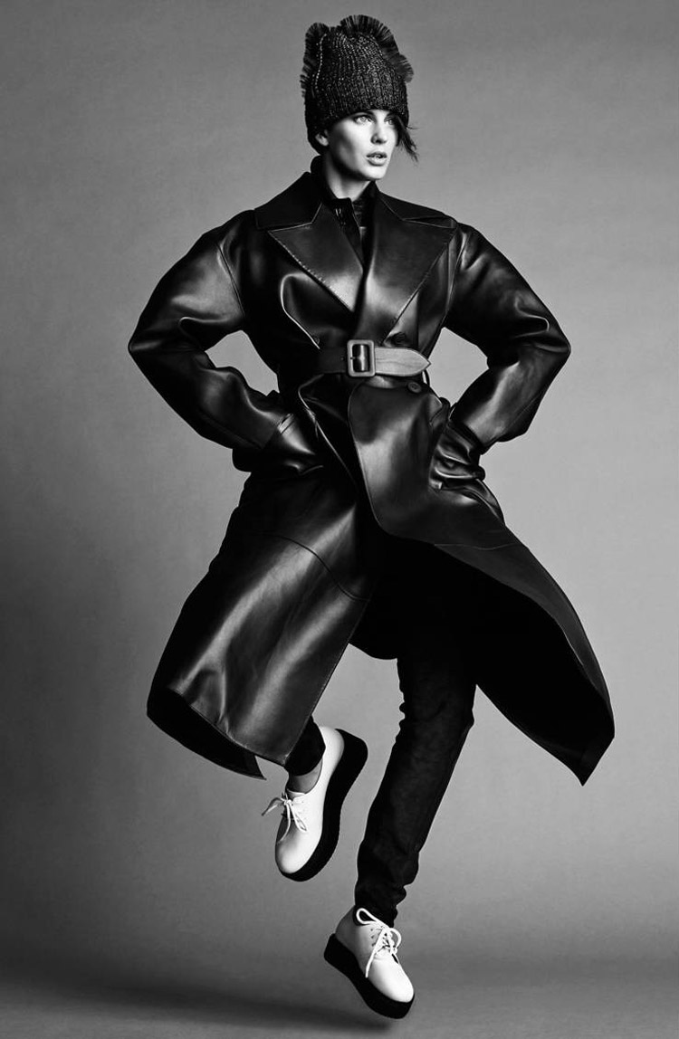 ellinore jimmy backius7 Ellinore Erichsen Rocks Androgynous Style for Madame Figaro by Jimmy Backius