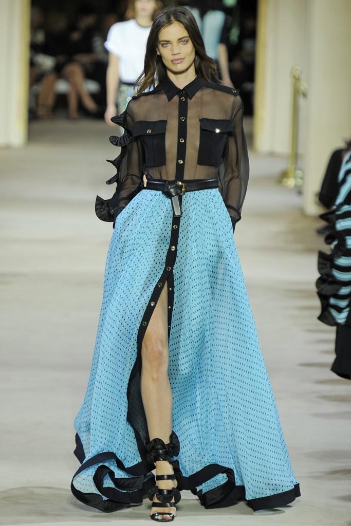 Paris Fashion Week Spring/Summer 2014 Day 7 Recap | Elie Saab, Saint Laurent, Stella McCartney + More