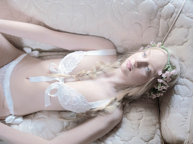 See Erin Fetherston x Cosabella's Bridal Lingerie Collaboration