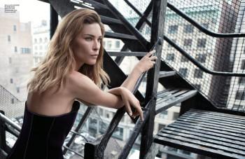 Erin Wasson Poses for Alex Cayley in Harper's Bazaar Korea Shoot