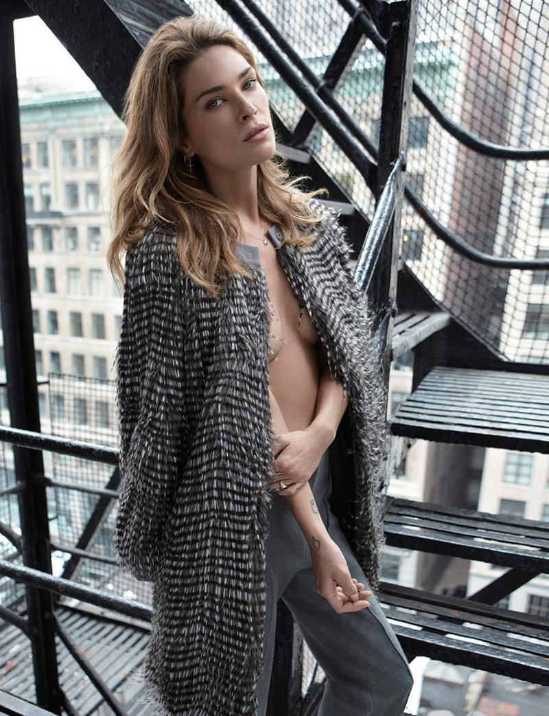 erin wasson alex cayley7 Erin Wasson Poses for Alex Cayley in Harpers Bazaar Korea Shoot