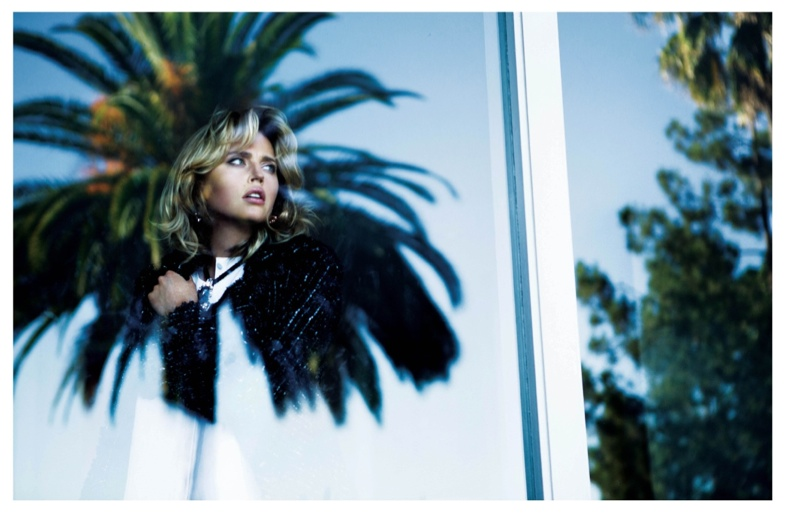 estella warren5 Estella Warren Poses for Mehmet Erzincan in LOfficiel Turkey Shoot