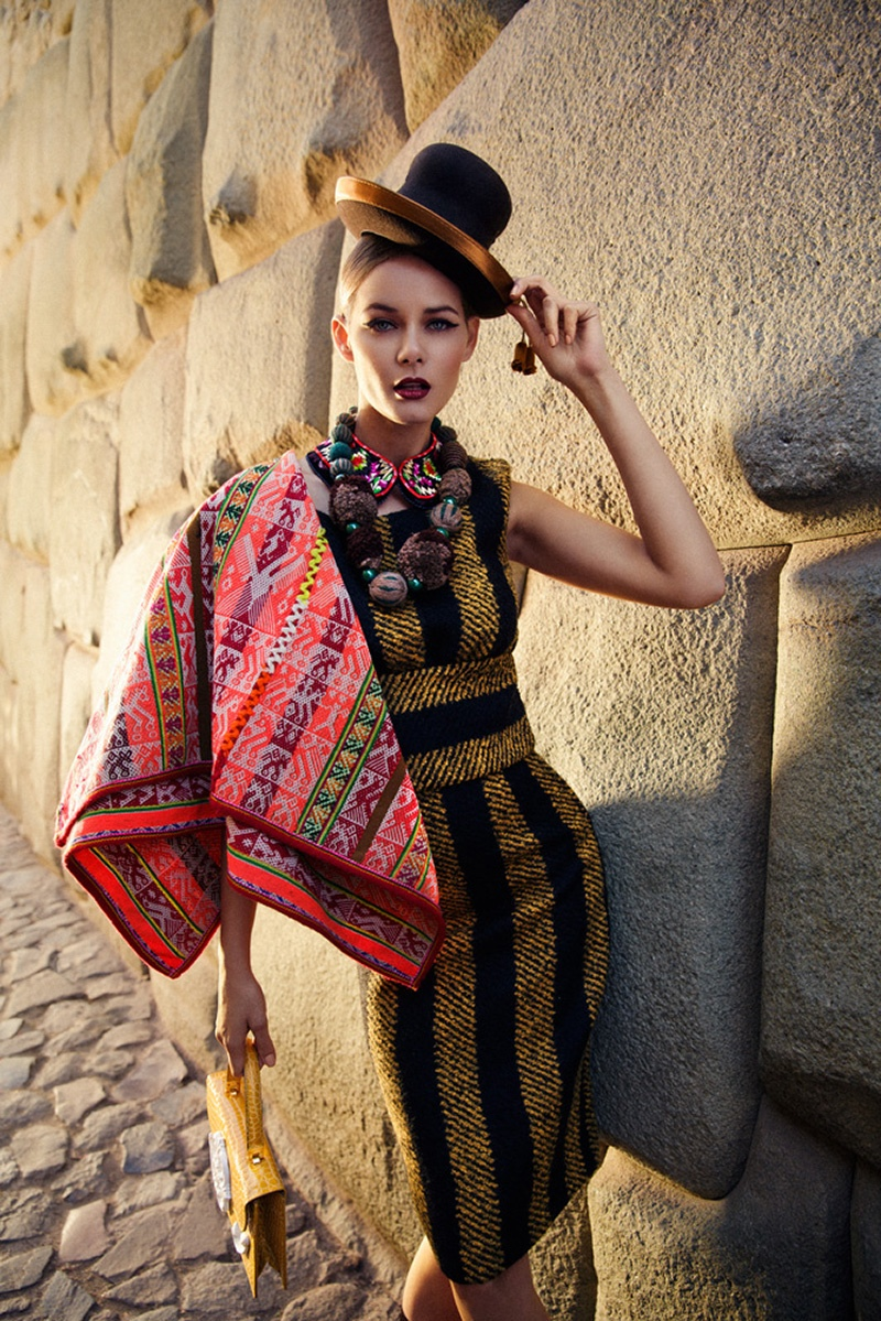 flavia oliveira3 Flavia de Oliveira Stuns in Perú for Woman Shoot by Richard Ramos