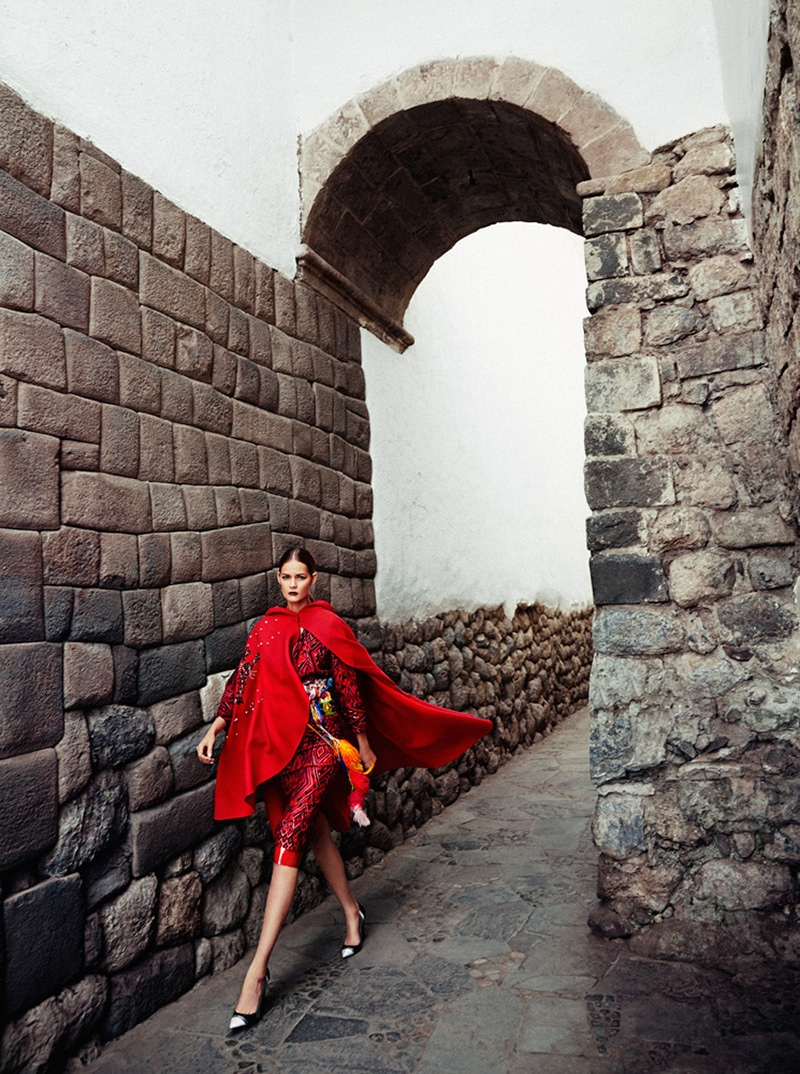 flavia oliveira5 Flavia de Oliveira Stuns in Perú for Woman Shoot by Richard Ramos