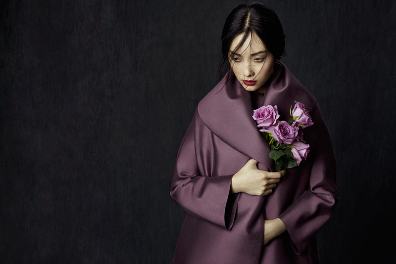 flowers zhang jingna4 Kwak Ji Young by Zhang Jingna in Flowers in December for Fashion Gone Rogue
