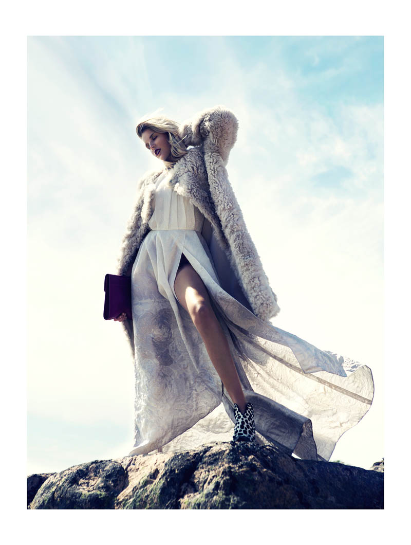 fredrik wannerstedt7 Linnea Regander Embraces the Outdoors for Elle Serbia by Fredrik Wannerstedt