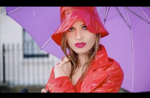 Sponsored Video: Georgia May Jagger for Rimmel's 'Moisture Renew Lipstick'