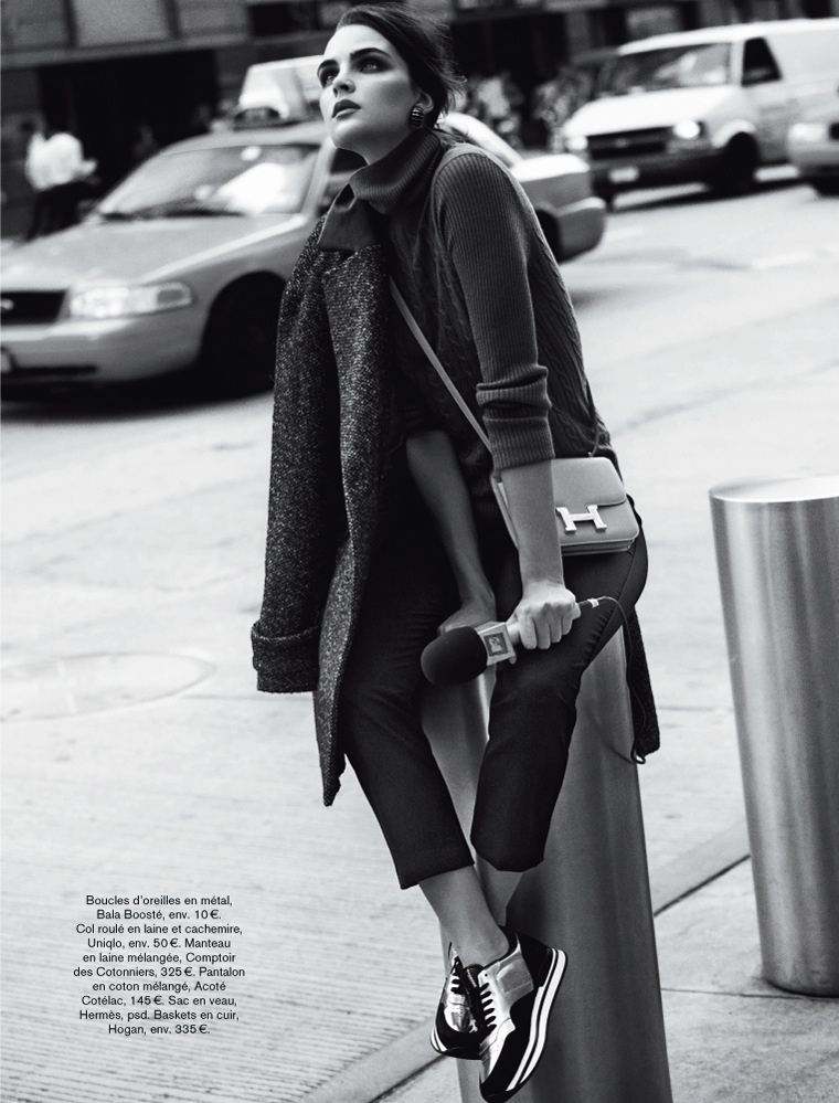 glamour adrian mesko8 Sam Laskey is a Girl On the Go for Glamour France by Adrian Mesko