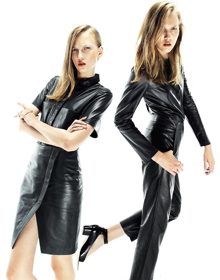 Katya Models High Street Style for Grazia UK Shoot by Nikolay Biryukov