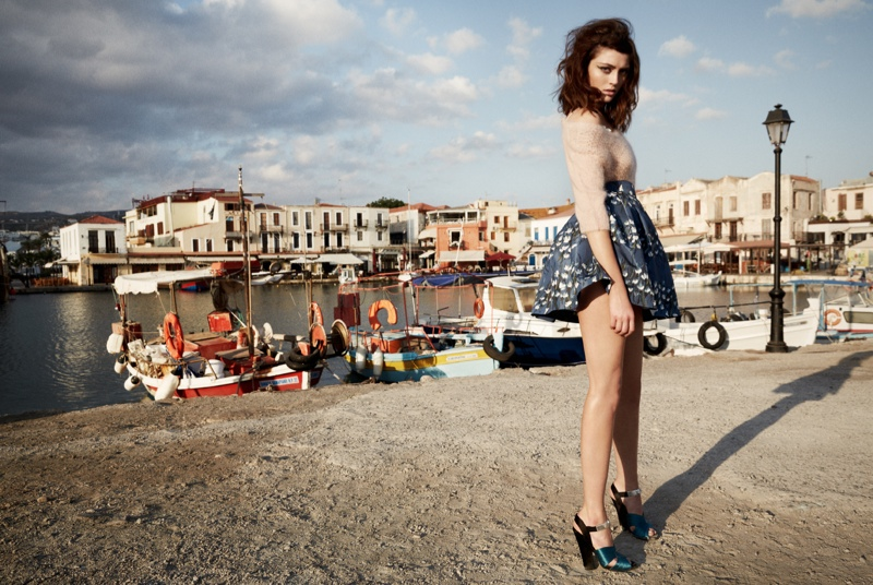 Charlotte Pallister Poses in Greece for Grazia Germany #40