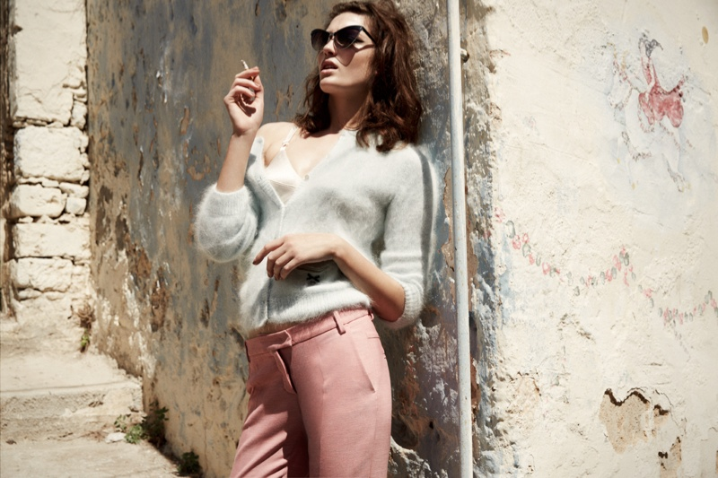 greece fashion shoot7 Charlotte Pallister Poses in Greece for Grazia Germany #40
