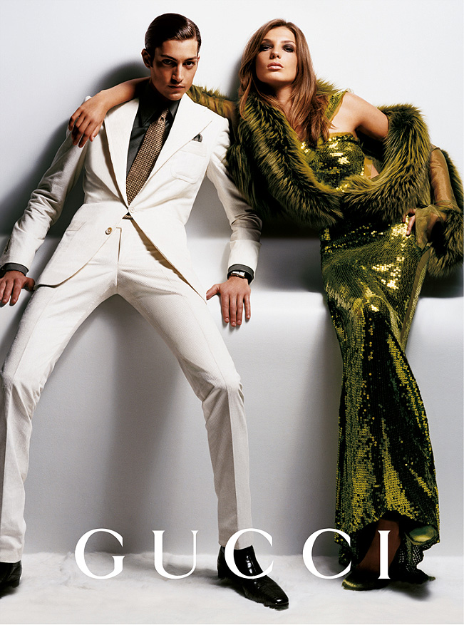 gucci fall 2004 campaign3 Throwback Thursday | Daria Werbowy for Gucci Fall 2004 Campaign