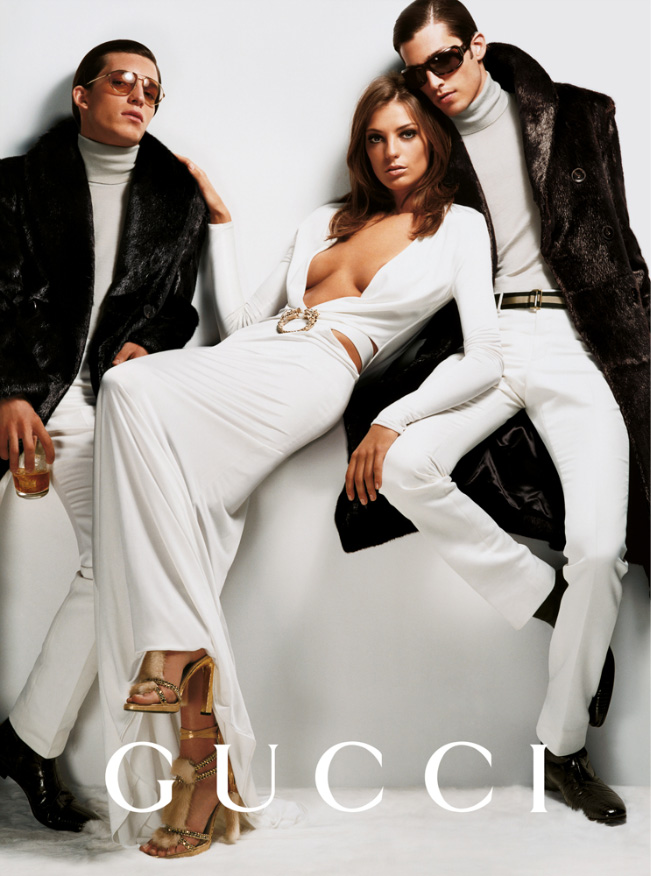 gucci fall 2004 campaign4 Throwback Thursday | Daria Werbowy for Gucci Fall 2004 Campaign