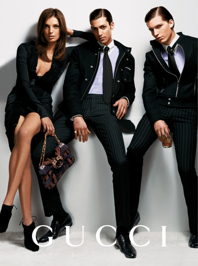 gucci fall 2004 campaign5 Throwback Thursday | Daria Werbowy for Gucci Fall 2004 Campaign