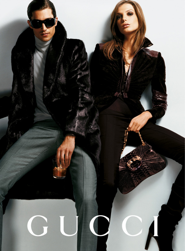 gucci fall 2004 campaign6 Throwback Thursday | Daria Werbowy for Gucci Fall 2004 Campaign