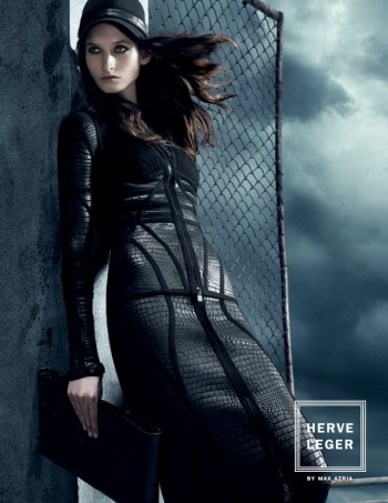 Suzanne Diaz Stars in Herve Leger by Max Azria's Fall 2013 Campaign