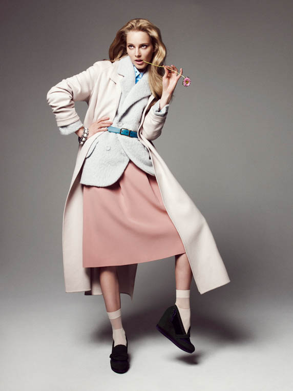 ieva please shoot9 Ieva Laguna is Ladylike Chic for Nagi Sakai in Please! Shoot
