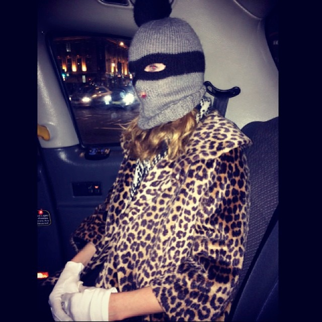 instagram halloween12 Happy Halloween! See Heidi Klum, Natasha Poly + More Models in Their Costumes