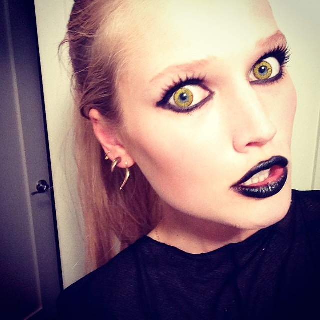 instagram halloween15 Happy Halloween! See Heidi Klum, Natasha Poly + More Models in Their Costumes