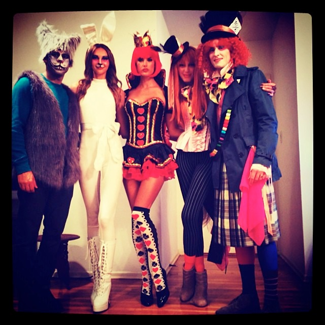instagram halloween21 Happy Halloween! See Heidi Klum, Natasha Poly + More Models in Their Costumes