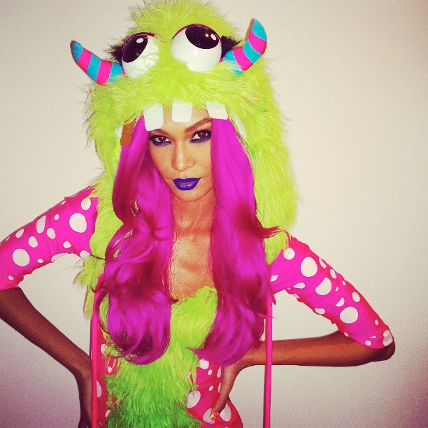 instagram halloween7 Happy Halloween! See Heidi Klum, Natasha Poly + More Models in Their Costumes