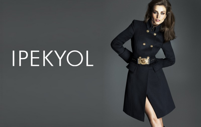 Andreea Diaconu Fronts Ipekyol Fall 2013 Campaign by Mert & Marcus