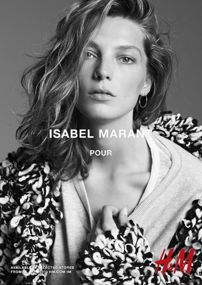 isabel marant hm campaign2 Models Wearing Nose Rings: A Style with Attitude