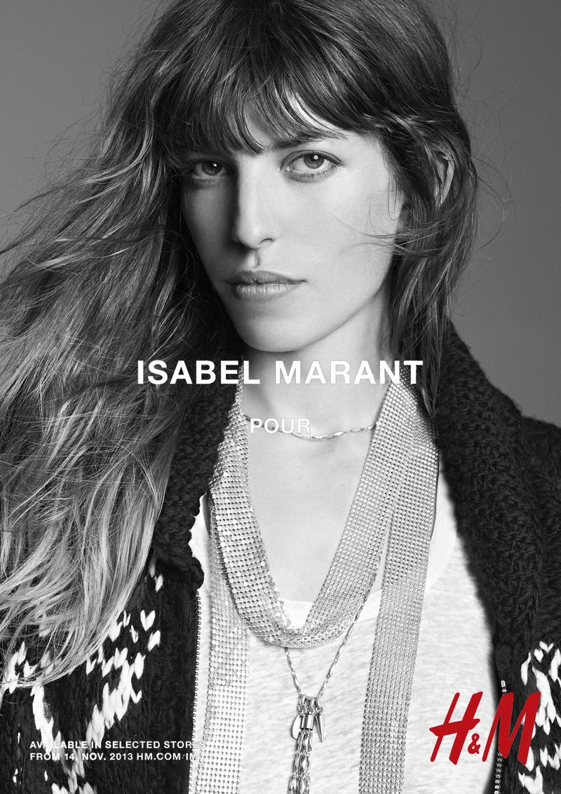 isabel marant hm campaign6 Isabel Marant for H&M Campaign with Daria Werbowy, Milla Jovovich, Alek Wek + More
