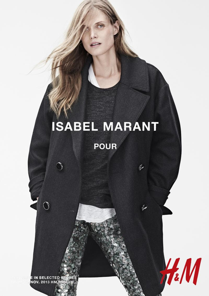 isabel marant hm campaign7 Isabel Marant for H&M Campaign with Daria Werbowy, Milla Jovovich, Alek Wek + More