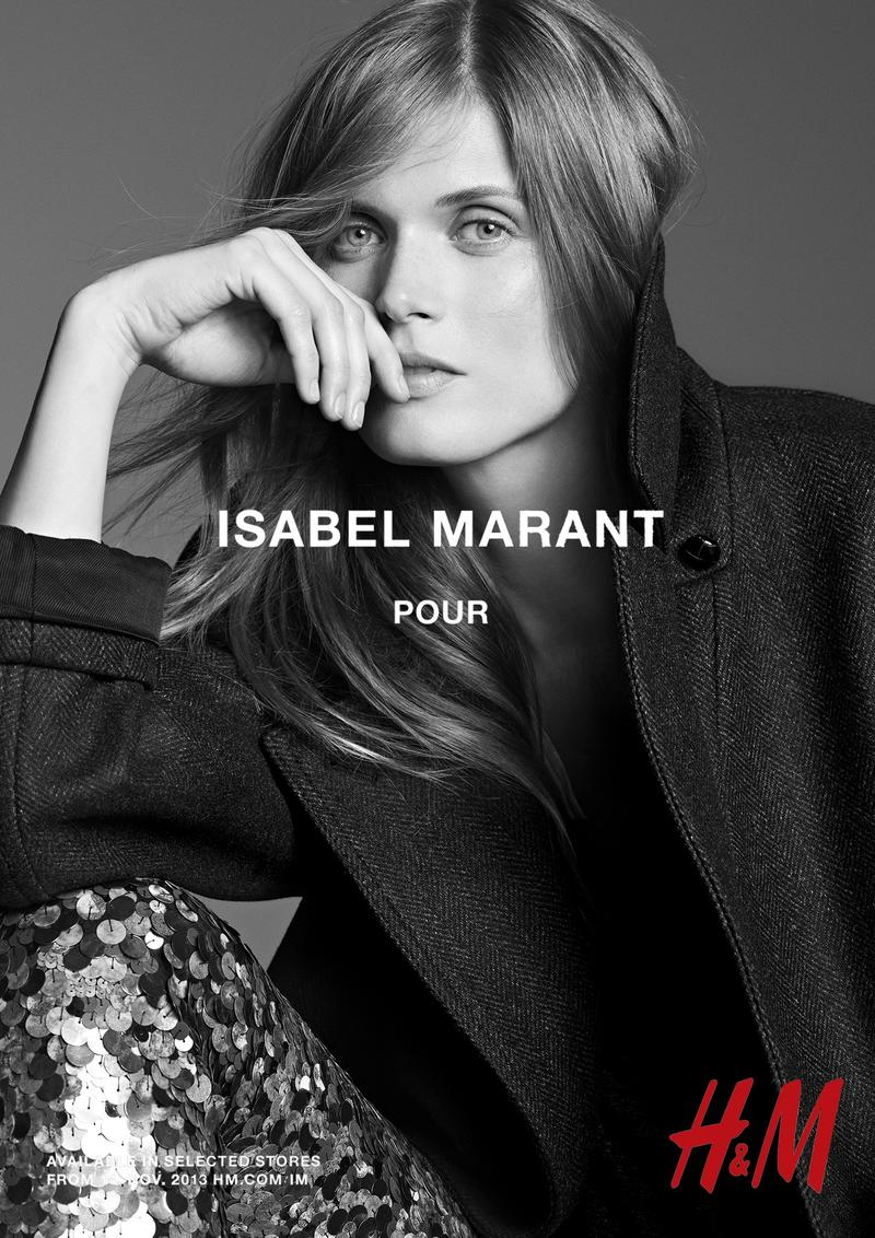 isabel marant hm campaign8 Isabel Marant for H&M Campaign with Daria Werbowy, Milla Jovovich, Alek Wek + More