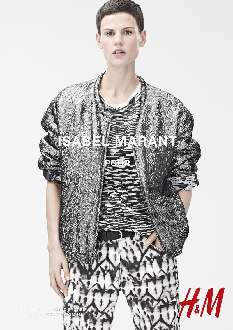 isabel marant hm campaign9 Isabel Marant for H&M Campaign with Daria Werbowy, Milla Jovovich, Alek Wek + More