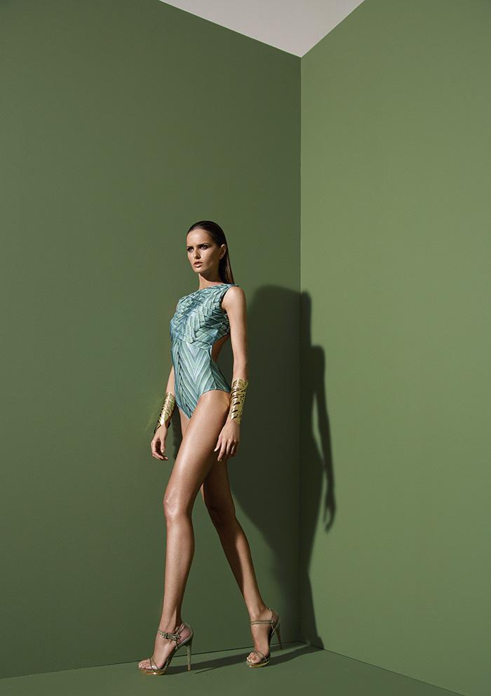 Izabel Goulart Fronts Agua de Coco's Spring 2014 Campaign