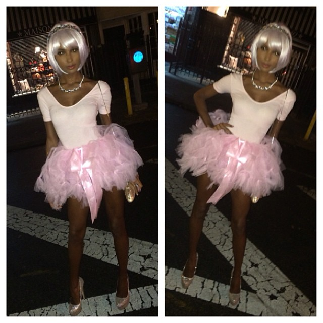 jasmine tookes ballerina Happy Halloween! See Heidi Klum, Natasha Poly + More Models in Their Costumes