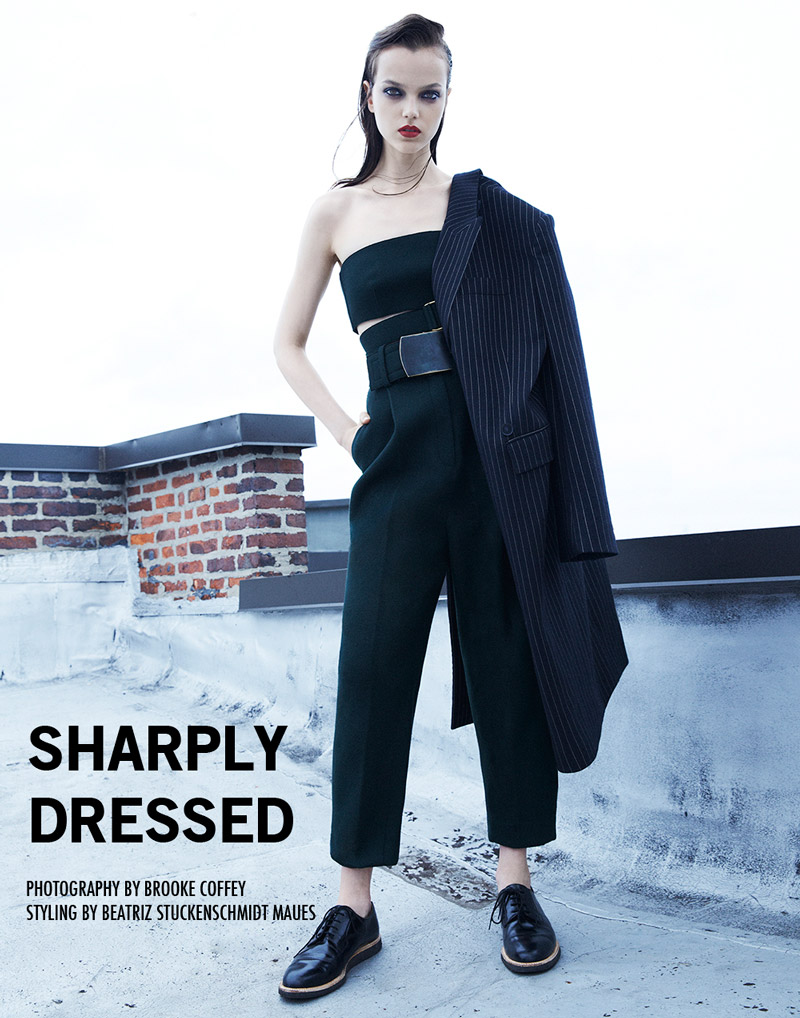"Jenna Earle by Brooke Coffey in ""Sharply Dressed"" for Fashion Gone Rogue"