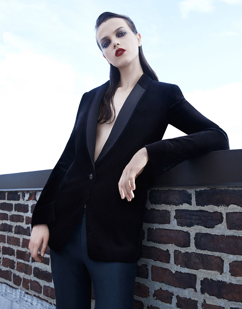 """Jenna Earle by Brooke Coffey in """"Sharply Dressed"""" for Fashion Gone Rogue"""