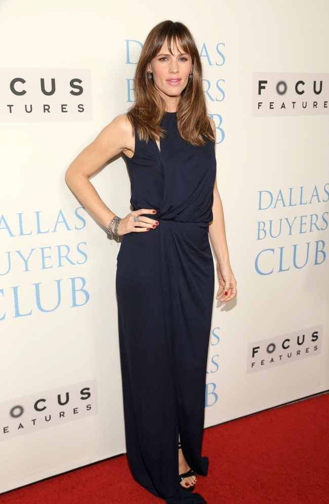 "Jennifer Garner Wears Vionnet at the ""Dallas Buyers Club"" Premiere"