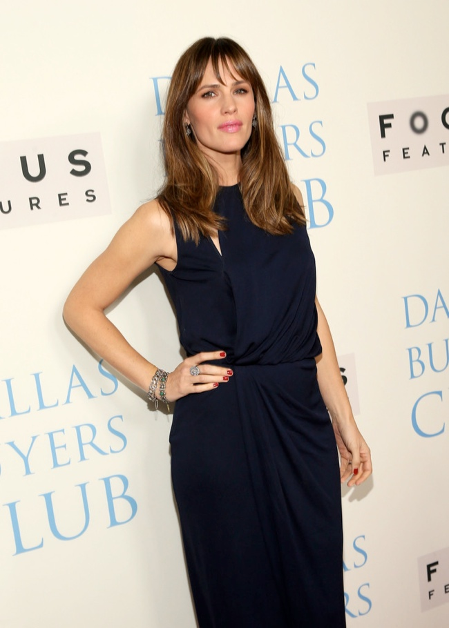jennifer garner vionnet3 Jennifer Garner Wears Vionnet at the Dallas Buyers Club Premiere