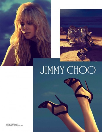 Nicole Kidman Returns for Jimmy Choo Cruise 2014 Campaign