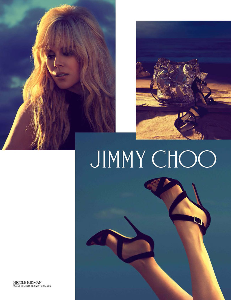 jimmy choo nicole kidman Nicole Kidman Returns for Jimmy Choo Cruise 2014 Campaign