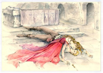 "See Sketches From the Upcoming ""Romeo & Juliet"" Film"