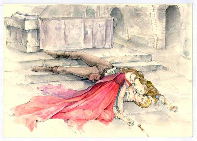 juliet 13 death  See Sketches From the Upcoming Romeo & Juliet Film